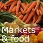French Markets, Wine & Food Images